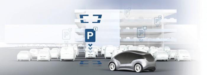 Bosch Active parking lot management