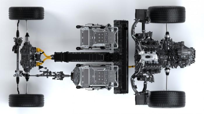 Honda NSX 2016 tecnica