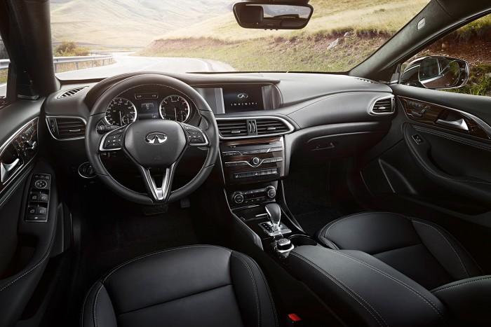 Infiniti QX30 2016 interior 01