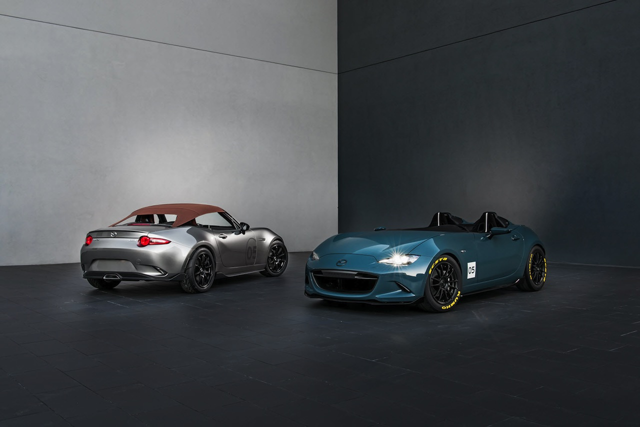 Mazda MX-5 Speedster y Spyder Concept 2015 01