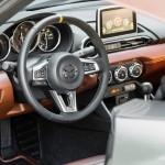 Mazda MX-5 Spyder Concept 2015 interior 01