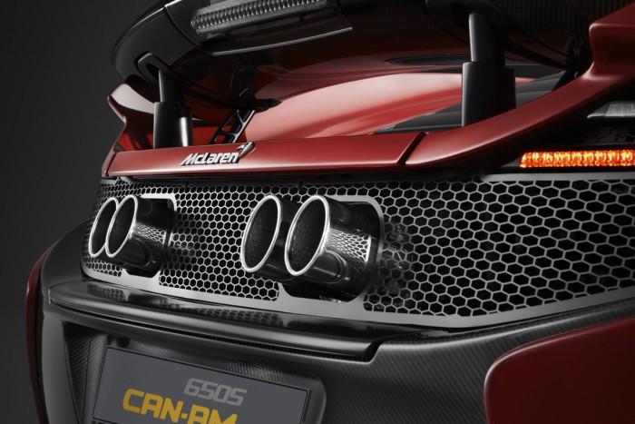 McLaren 650S Can Am tubos