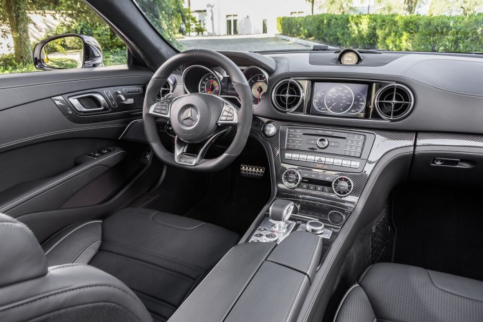 Mercedes-AMG SL 63 R 231 2016 interior 1