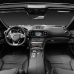 Mercedes-AMG SL 63, Polsterung: Leder schwarz, Zierteile: AMG CarbonMercedes-AMG SL 63, leather black, trim: AMG carbon