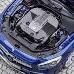 Mercedes-AMG SL 65, Brilliantblau, V12-Biturbomotor, 463 kW (630 PS), 1000 NmMercedes-AMG SL 65, brilliant blue, V12-biturbo engine, 463 kW (630 hp), 1000 Nm