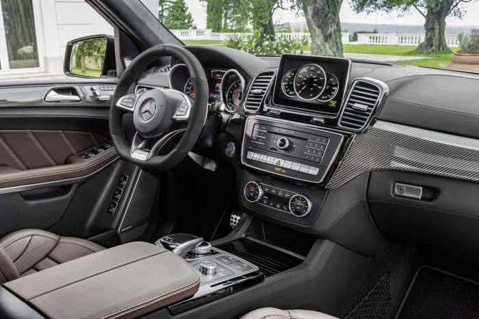 Zierteile: AMG Carbon interior: leather nappa espresso brown, trim parts: AMG carbon
