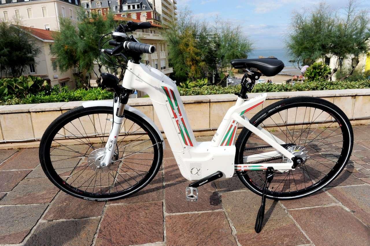 Pragme Industries bicicleta hidrogeno