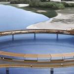 Puente circular uruguay Laguna Garzon 01