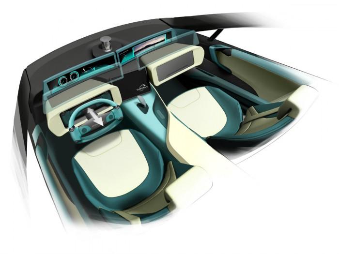 Rinspeed Ethos Concept 2105 interior 01