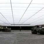 The Wayne Residence garaje lujo 02
