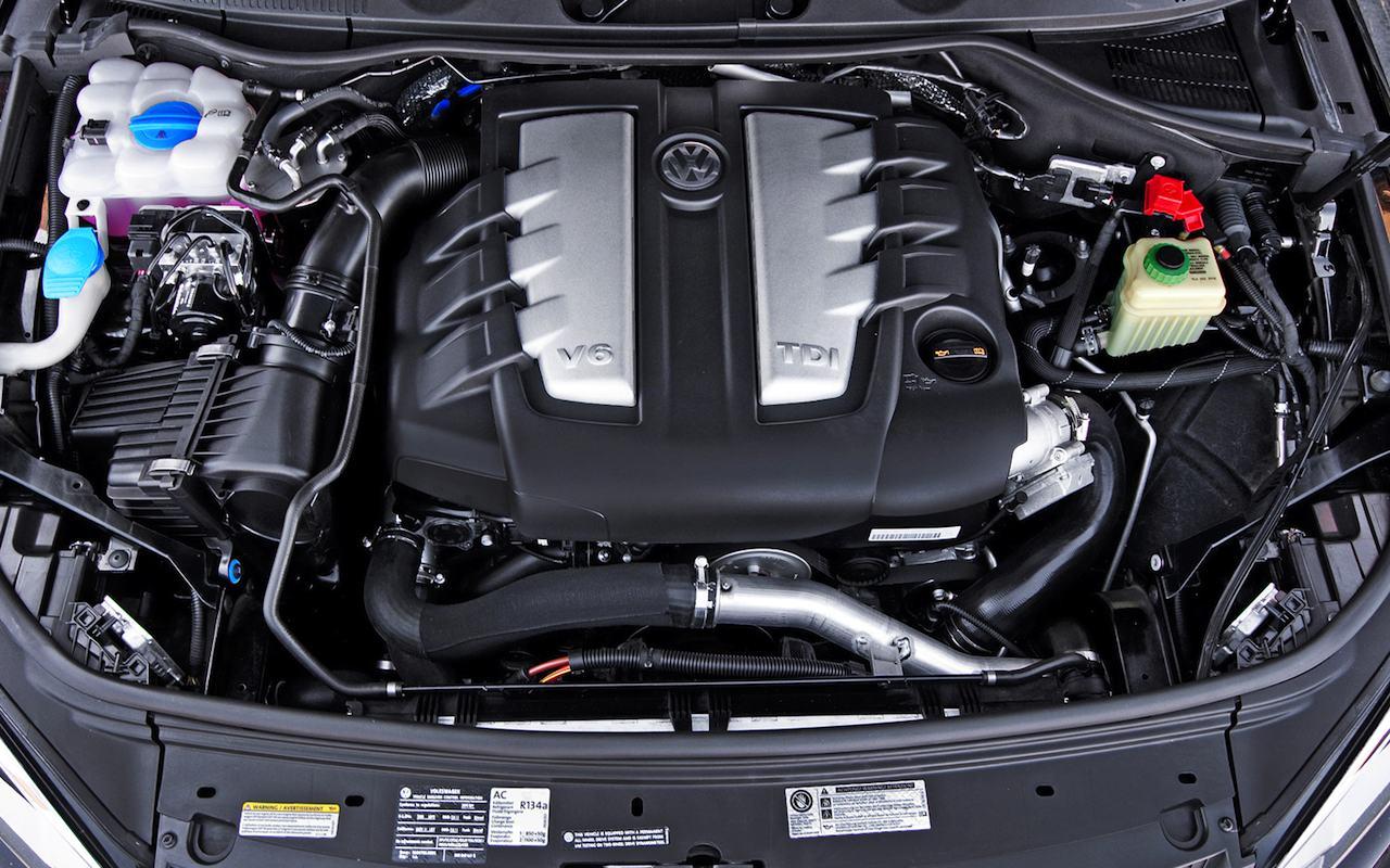 Volkswagen V6 TDI motor