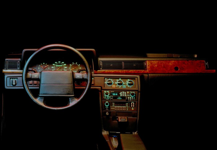 Volvo 780 Coupe 1985 interior 01