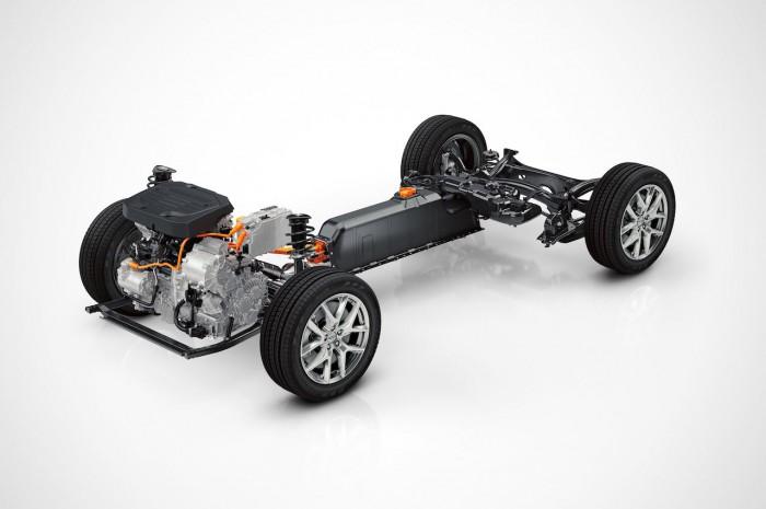 Volvo plataforma CMA con motor T5 Twin