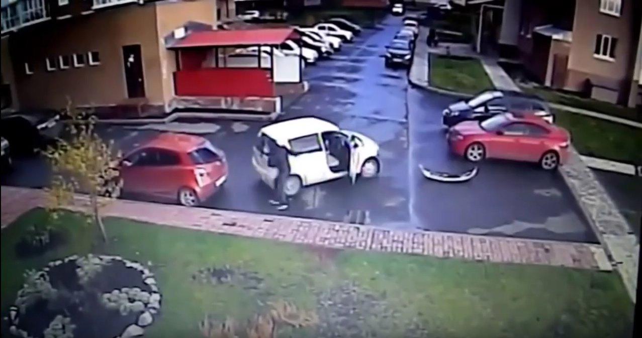 cafre aparcamiento ruso