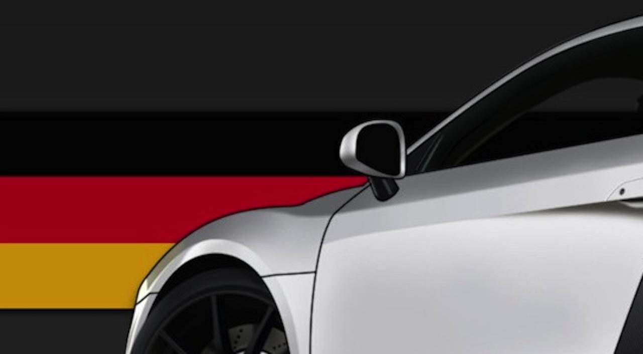coche bandera alemania