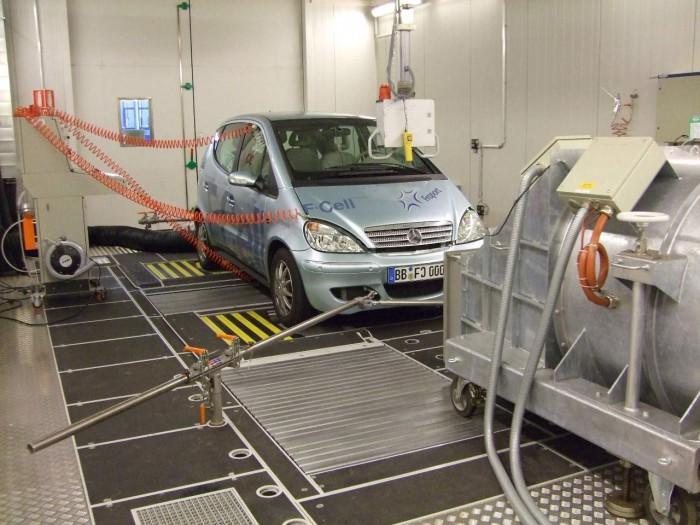 emisiones coches test laboratorio
