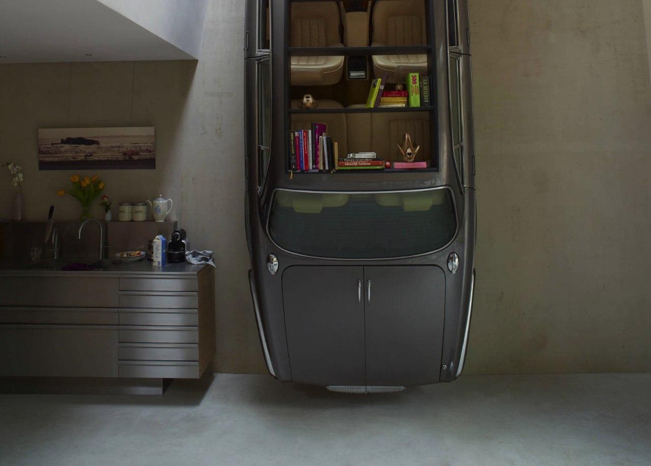 Diez ideas para amueblar tu casa con piezas de coches for Ideas para amueblar tu casa