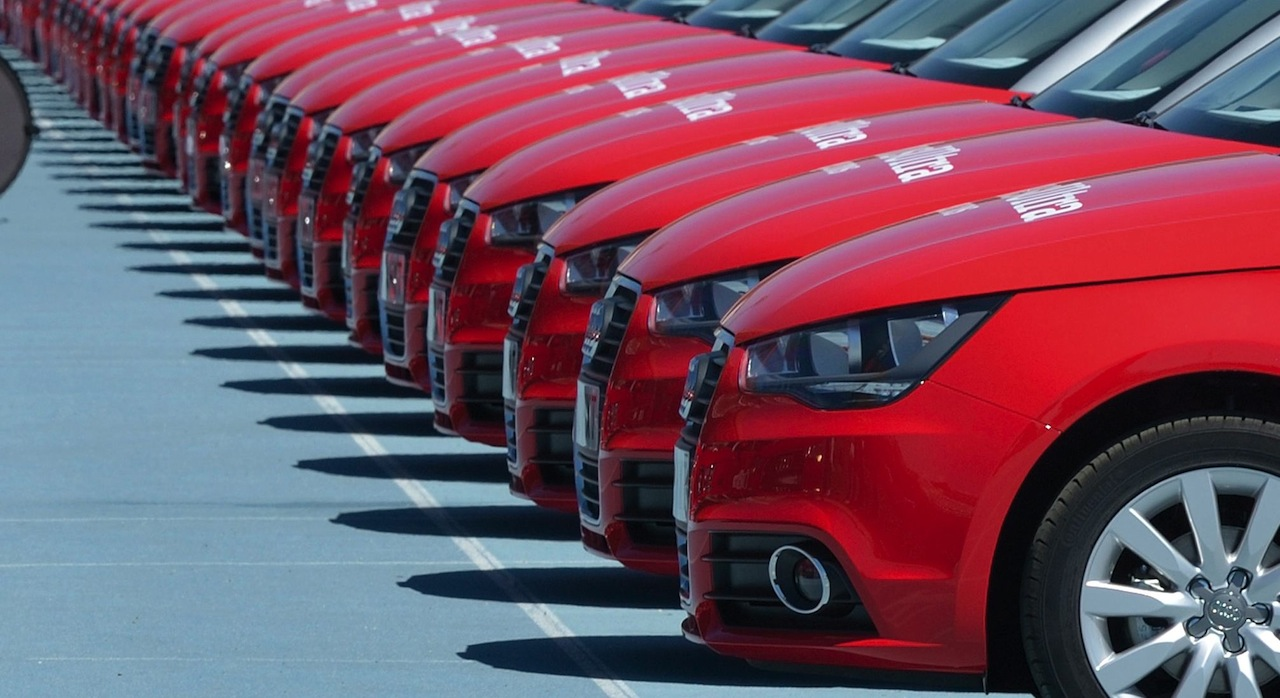 flota coches Audi