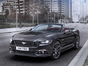 Ford Mustang GT Convertible Europa 2015