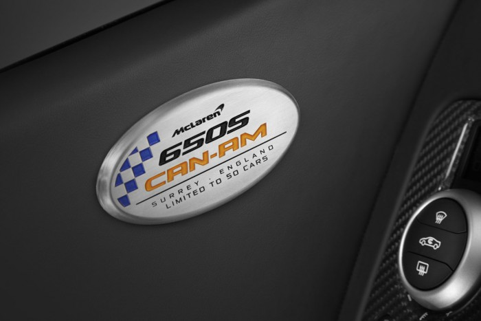 logo McLaren 650S Can Am