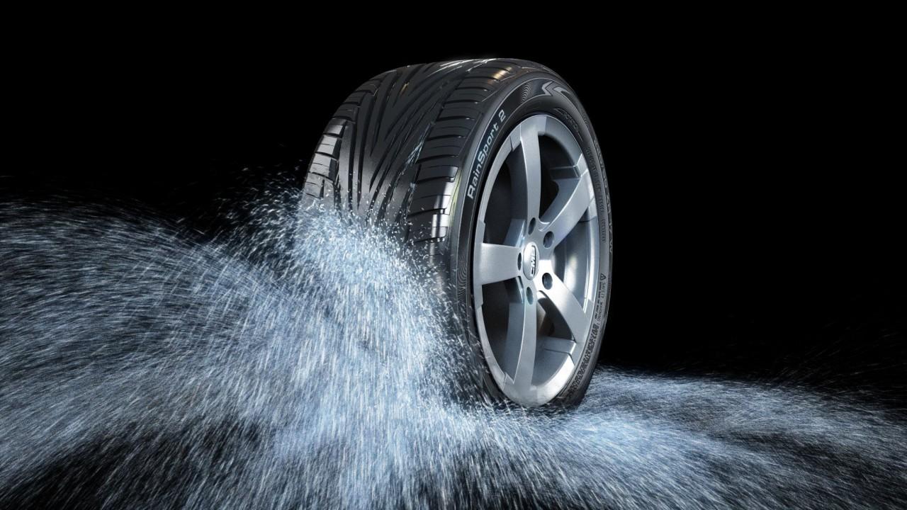 neumáticos lluvia