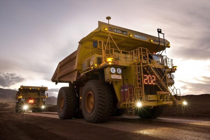 Rio Tinto - Autonomous Haulage Trucks, West Angelas minesite; credit Christian Sprogoe Photography