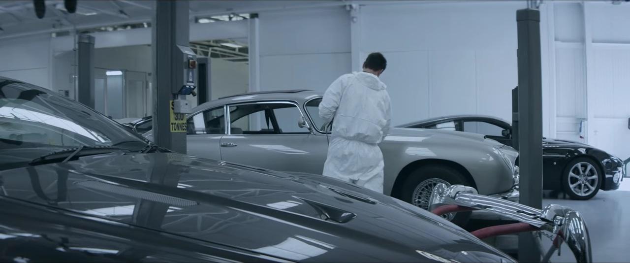 restauracion Aston MArtin DB5