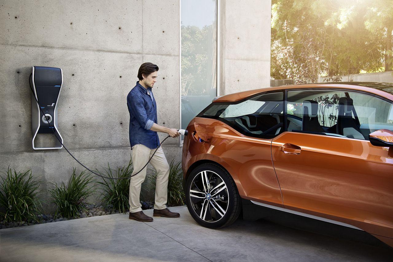 BMW i3 carga coche electrico