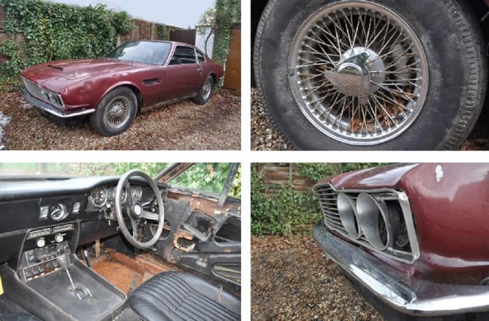 Aston Martin DBS abandonado 03