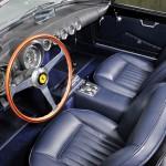 Ferrari 250 GT Cabrio Series I 1958 interior 02