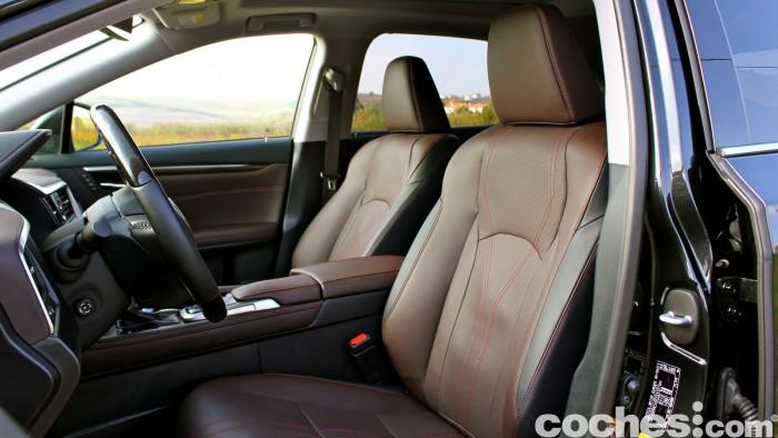 Lexus RX 450h 2016 interior 3