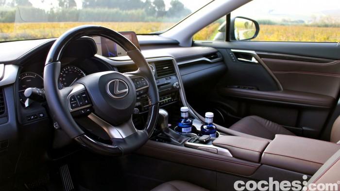 Lexus RX 450h 2016 interior 4