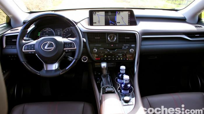 Lexus RX 450h 2016 interior 6