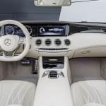 Mercedes-AMG S 65 Cabrio, Interieur: Leder Porzellaninterior: leather porcelaine