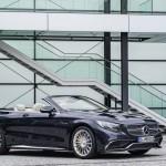 Mercedes-AMG S 65 Cabrio, Exterieur: Anthrazithblauexterior: anthracite blue