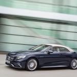 Mercedes-AMG S 65 Cabrio, Exterieur: Anthrazithblauexterior: anthracite blue, fabric soft top beige