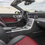 Mercedes-Benz SLC 300, Interieur, bengalrot/schwarz