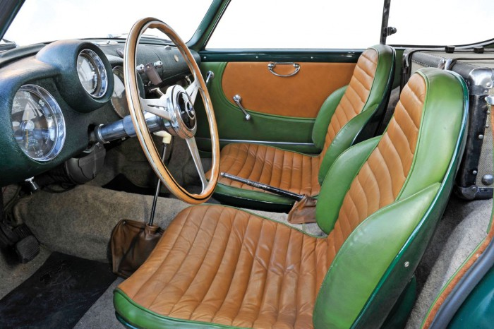 Pegaso Z-102 3.2 Berlinetta by Touring 1954 interior 01