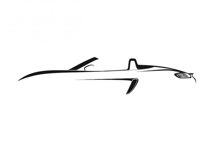 Porsche 718 Boxster silueta