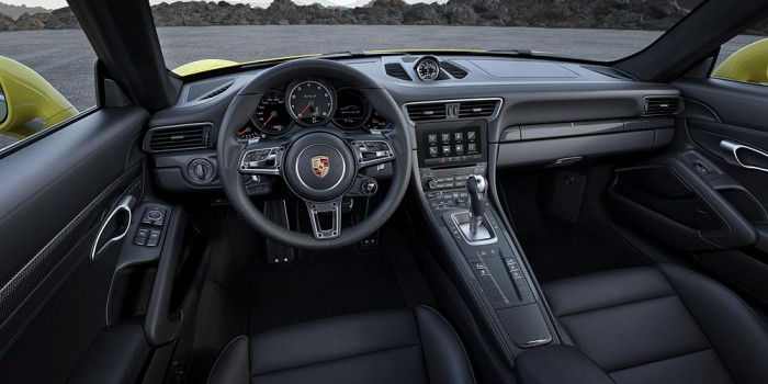 Porsche 911 Turbo S 2016 interior 02