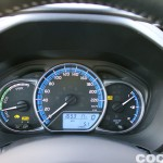 Toyota Yaris Hybrid interior prueba 2