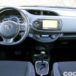 Toyota Yaris Hybrid interior prueba 8