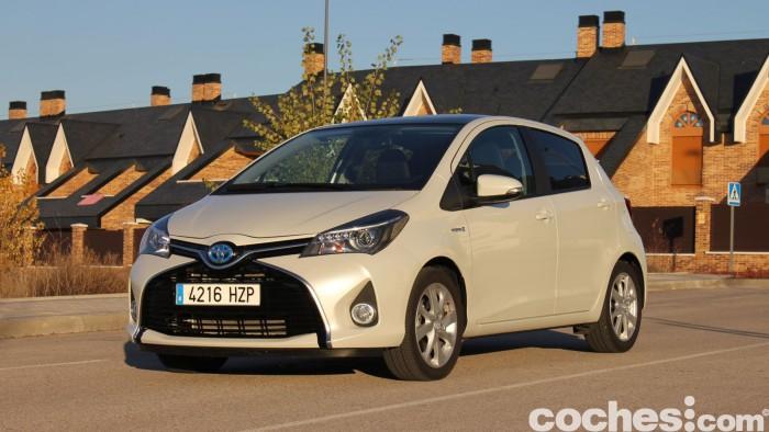 Toyota Yaris Hybrid prueba 11