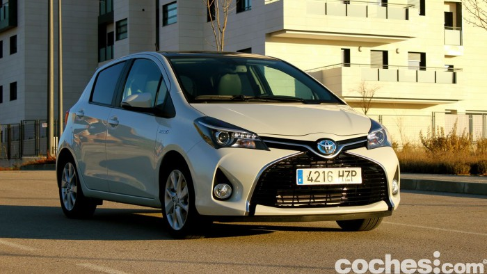 Toyota Yaris Hybrid prueba 13