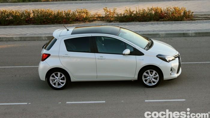 Toyota Yaris Hybrid prueba 16