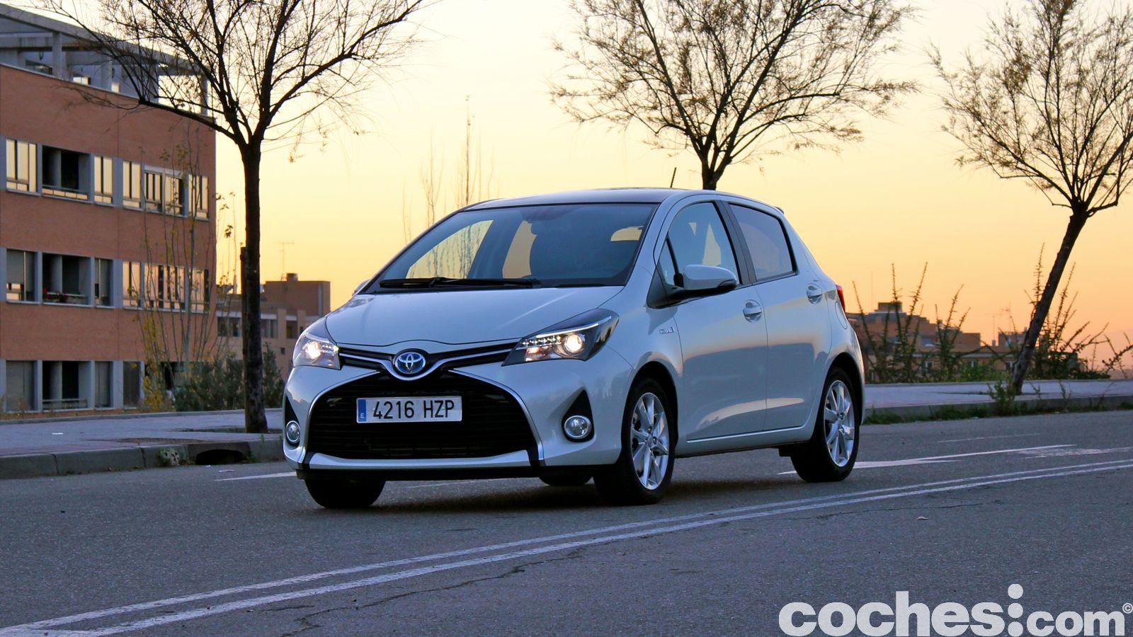 Toyota Yaris Hybrid prueba 20