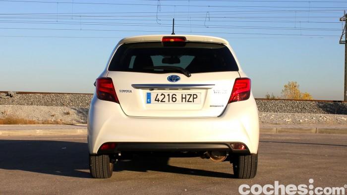 Toyota Yaris Hybrid prueba 5