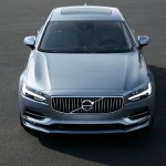 High Front Volvo S90 Mussel Blue