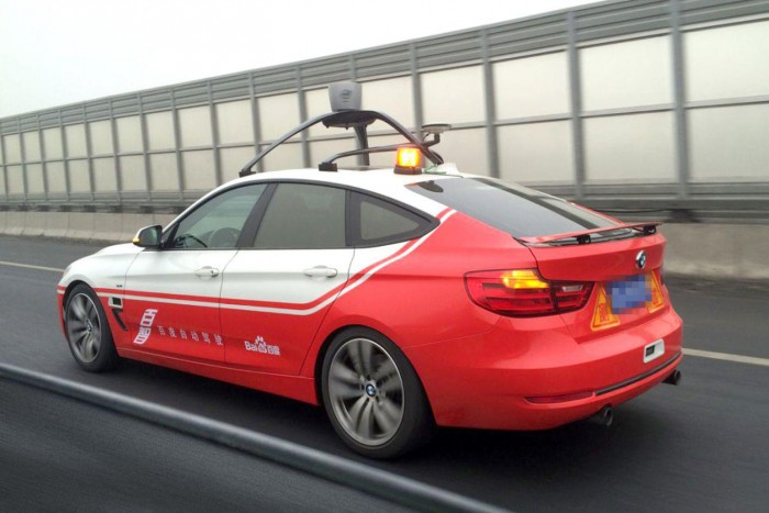 baidu coche autonomo
