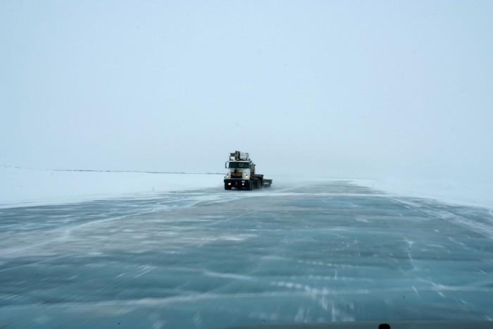 carreteras de hielo